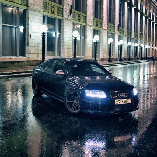 Audi RS6 в СК Олимпийский