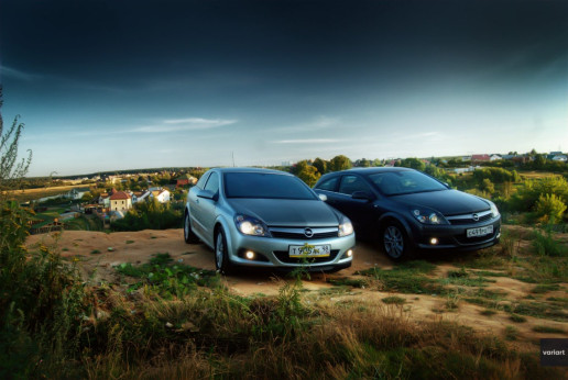 Opel Astra H GTC 2009 в Ромашково