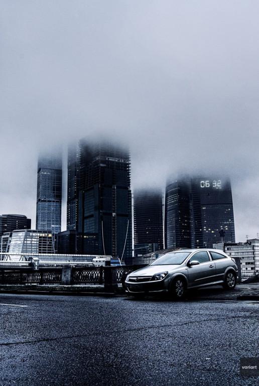 Opel Astra H GTC 2009 Москва-Сити