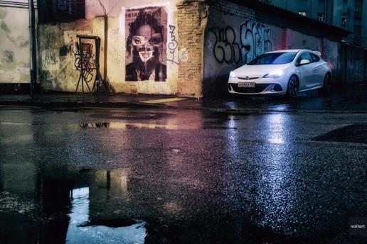 Opel Astra J OPC, на улицах Москвы