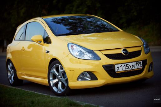 Opel Corsa OPC 2008 на Тараса Шевченко