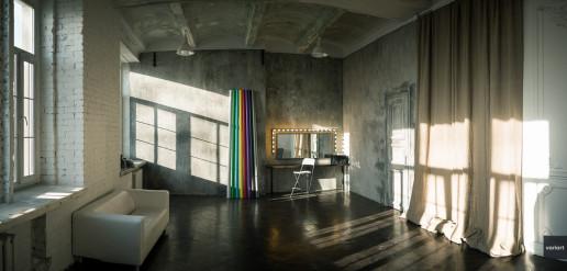 Фотосьемка интерьера фотостудии Фотофактура