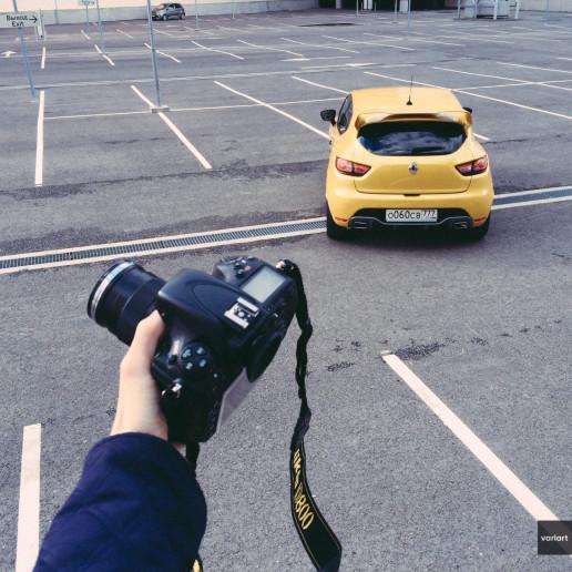 Фотосъемка Renault Clio RS IV
